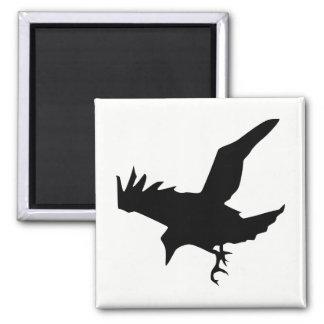 Silhouette de Raven Aimant
