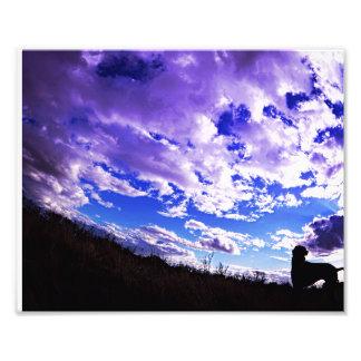 Silhouette de Ridgeback Impression Photo