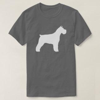 Silhouette de Schnauzer T-shirt