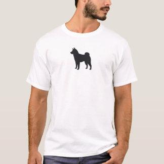 Silhouette de Shiba Inu T-shirt