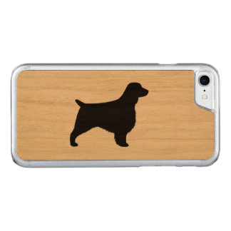 Silhouette de springer spaniel de Gallois Coque Carved Pour iPhone 7