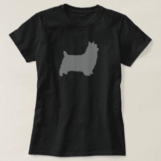 Silhouette de Terrier soyeux T-shirt