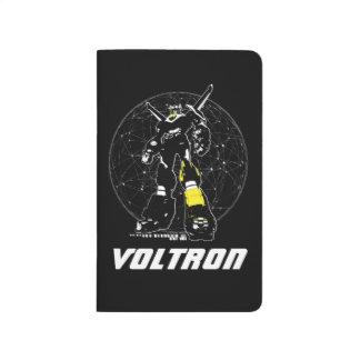 Silhouette de Voltron | au-dessus de carte Carnet De Poche