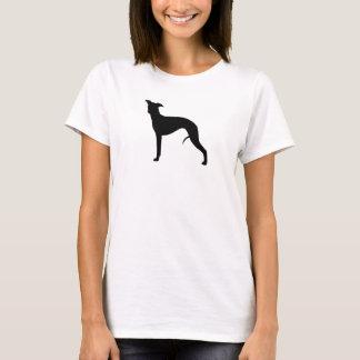 Silhouette de whippet t-shirt