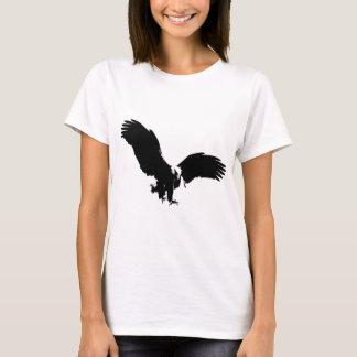 Silhouette d'Eagle chauve T-shirt