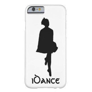 silhouette irlandaise de danseur d'iDance Coque iPhone 6 Barely There
