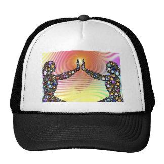 Silhouette, la vie casquette de camionneur