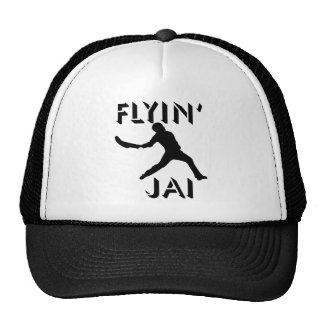 Silhouette noire de Flyin Jai Casquettes
