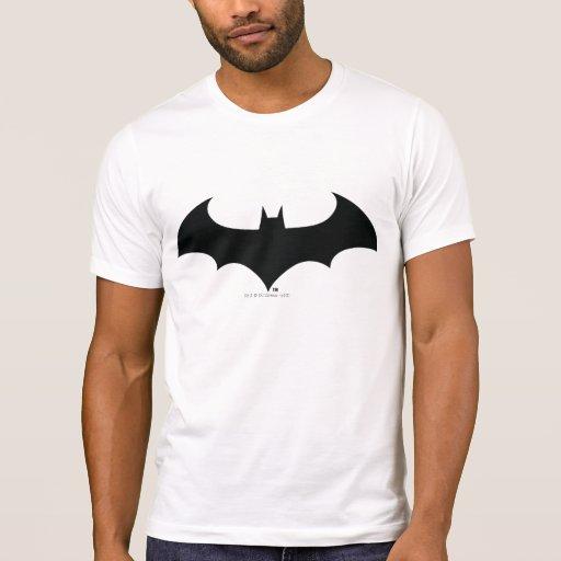 Silhouette simple de batte t-shirt