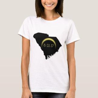 Silhouette totale 2017 de la Caroline du Sud T-shirt