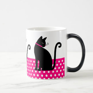 Silhouettes de chat mug magic