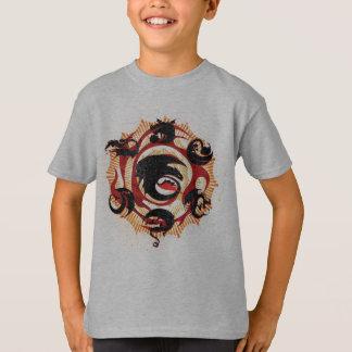 Silhouettes de dragon t-shirt