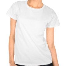 Silhouettes de Mary et de Joseph T-shirts