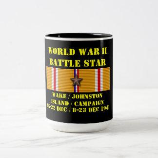 Sillage/campagne île de Johnston Mug Bicolore
