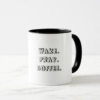 Sillage. Priez. Café. Tasse