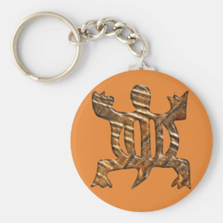 Simbol d'Adinkra d'Africain de l'adaptabilité Porte-clés