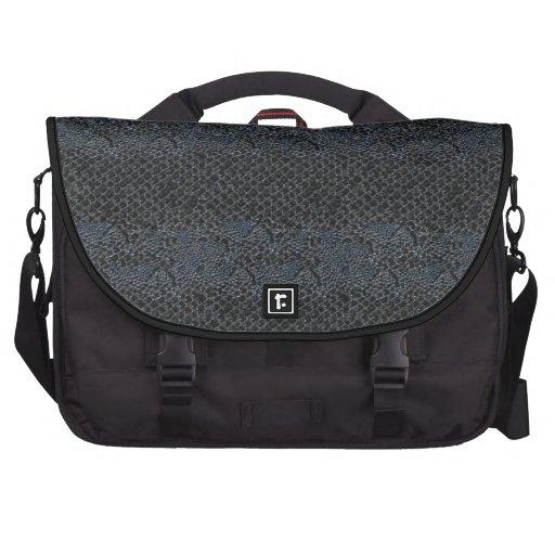 Simili cuir gris gris de noir de sac d'ordinateur  sacs ordinateur portable