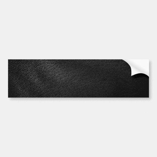 simili cuir noir autocollant pour voiture zazzle. Black Bedroom Furniture Sets. Home Design Ideas