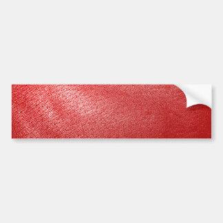 Simili cuir rouge autocollant de voiture