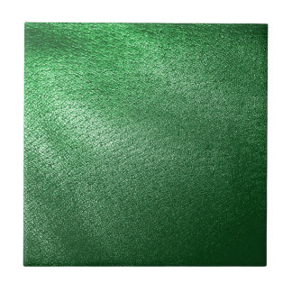 Simili cuir vert petit carreau carré