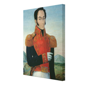 Simon Bolivar Impressions Sur Toile