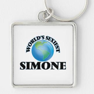 Simone le plus sexy du monde porte-clé