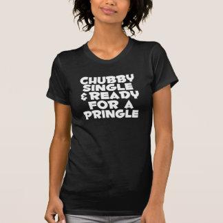 Simple et prêt potelés pour une chemise drôle de t-shirt