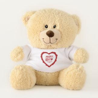 Simple fait avec l'ours de nounours de Valentine