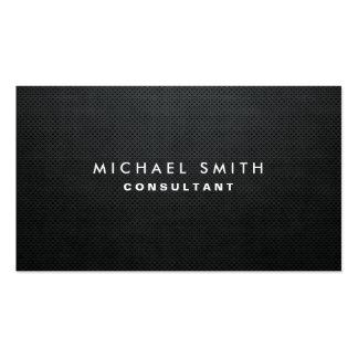 Simple simple noir moderne élégant professionnel modèles de cartes de visite