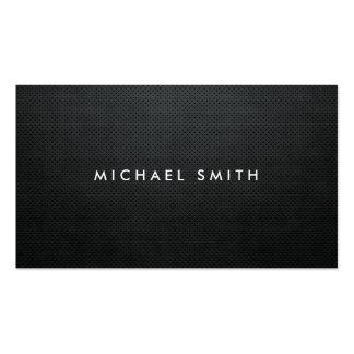 Simple simple noir professionnel moderne élégant modèles de cartes de visite