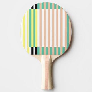 simplement les rayures monnayent poussiéreux raquette de ping pong