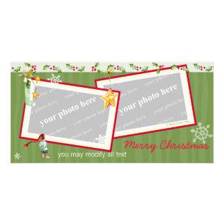 Simplement Noël Photocartes Personnalisées