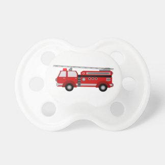 Simulacre de camion de pompiers tétine