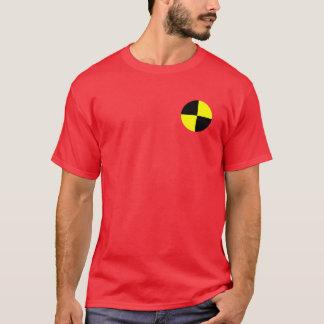 Simulacre d'essai d'accident t-shirt