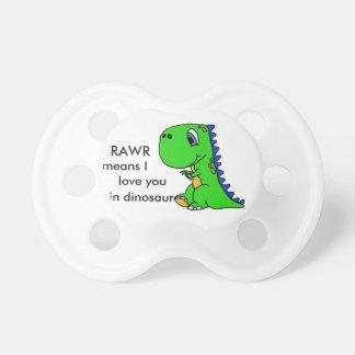 Simulacre mignon de T-Rex de dinosaure Sucettes Pour Bébé