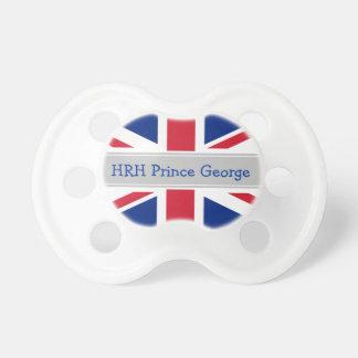 Simulacre royal de prince George de bébé Tétines