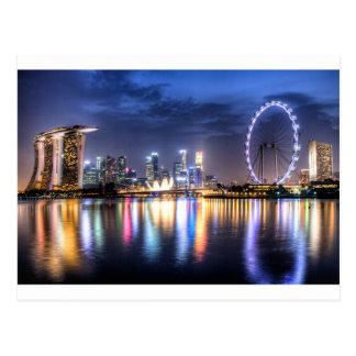 Singapour ! carte postale