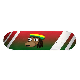 Singe avec le casquette de Jamacan Skateboard Old School 21,6 Cm