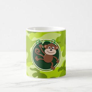 Singe camo vert clair camouflage tasses