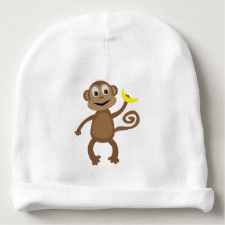 Singe - casquette nouveau-né de forêt tropicale bonnet de bébé