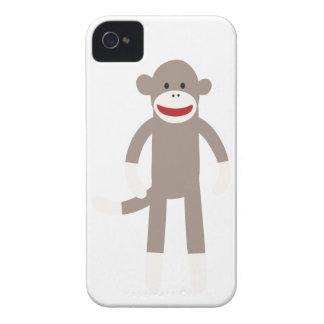 Singe de chaussette coques iPhone 4 Case-Mate