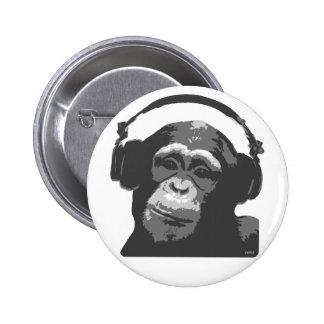 SINGE DU DJ BADGE AVEC ÉPINGLE