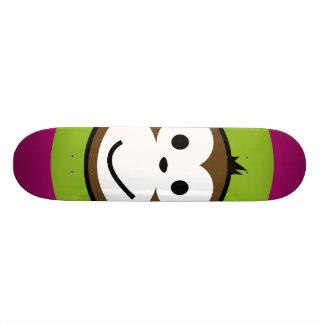 Singe effronté skateboards personnalisables