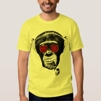 Singe fou t-shirts