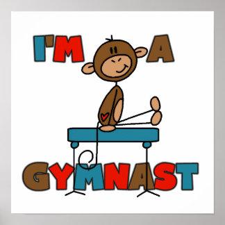Singe je suis un gymnaste posters