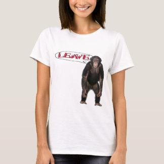 singe leave t-shirt