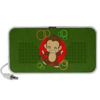 Singe mignon haut-parleur mobile