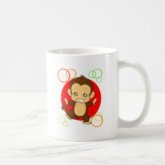Singe mignon tasses à café