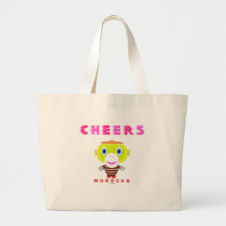 Singe-Morocko Acclamation-Mignon Grand Tote Bag