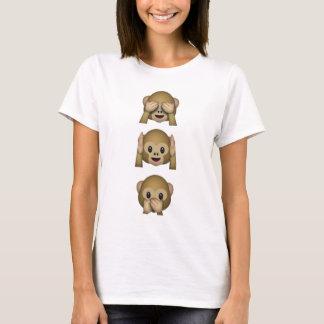Singes d'Emoji T-shirt